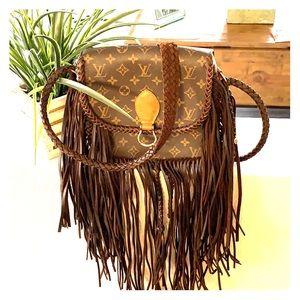 Authentic Louis Vuitton custom bag